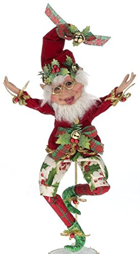 Mark Roberts Hollyberry Elf Small 9″