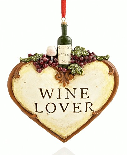 Holiday Lane Wine Lover Ornament