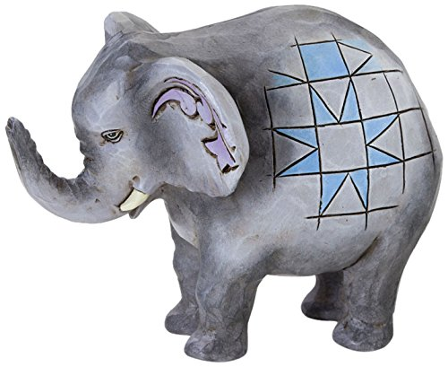 Jim Shore for Enesco Heartwood Creek 2.75-Inch Elephant Figurine, Mini