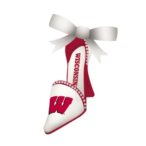 Team Shoe Ornament, University of Wisconsin