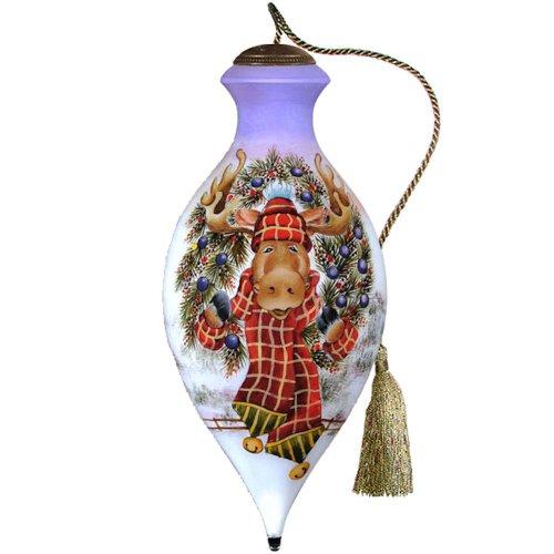 Ne' Qwa Merry Chris-Moose! Ornament