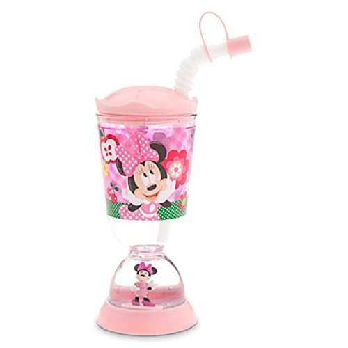 Disney Minnie Mouse Snowglobe Tumbler with Straw