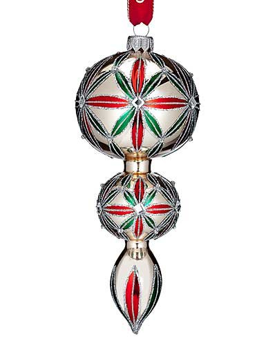 Waterford HH Carina Starburst Multi-Tier Spire Ornament