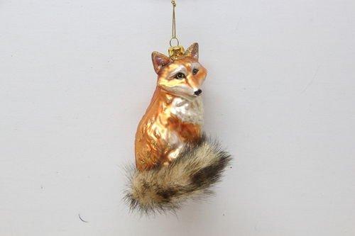 4.5″ December Diamonds Sleek Red Fox Christmas Ornament #79-80199