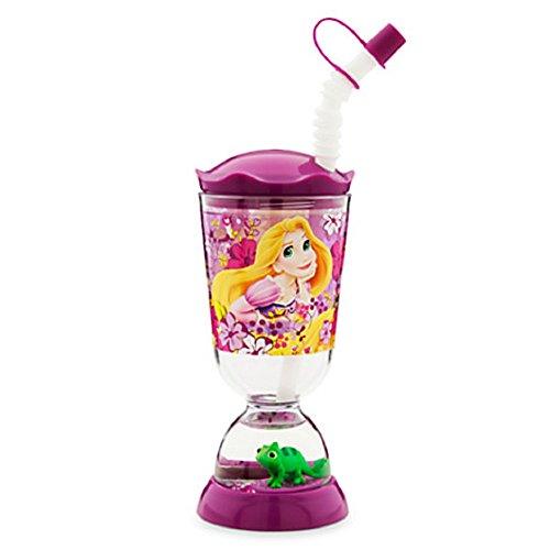 Disney Kids Snowglobe Tumbler with Straw (Rapunzel)