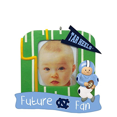North Carolina Tar Heels Official NCAA 5 inch x 5 inch Future Fan Photo Frame Christmas Ornament by Evergreen 167515