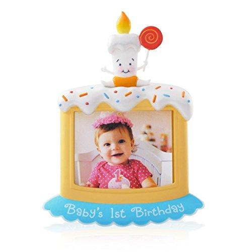 Baby's First Birthday Photo Holder – 2014 Hallmark Keepsake Ornament