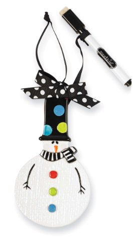 Mud Pie Ornament, Snowman