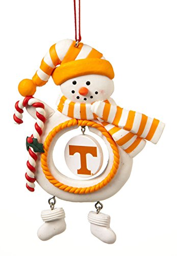 University of Tennessee Jolly Christmas Snowman Ornament