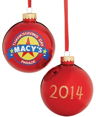 Holiday Lane 2014 Parade Ball Ornament