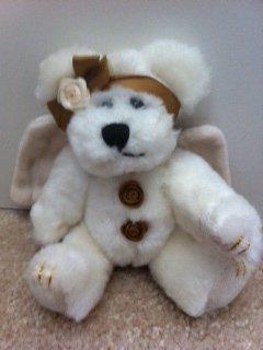 """Cassie Goodnight"" 6″ Angel Bear Ornament Boyds Bear (Retired)"