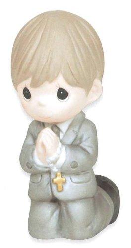 Precious Moments Figurine, Boy Kneeling Communion
