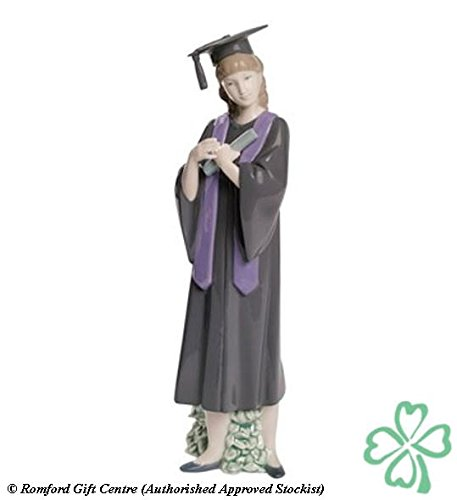 Nao Porcelain by Lladro GRADUATION JOY ( FEMALE GRADUATE ) 2001631