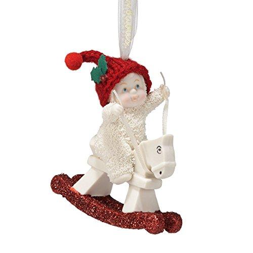 Snowbabies Rockin' Christmas Ornament, 3-Inch