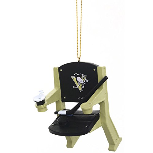 Pittsburgh Penguins Official NHL 4 inch x 3 inch Stadium Seat Ornament