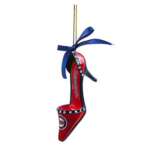 Minnesota Twins Official MLB 3 inch x 1.5 inch Team Shoe Ornament