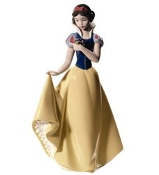 "Nao by Lladro fine porcelain figurine from their Disney Collection: ""Snow White"" – No.1680"