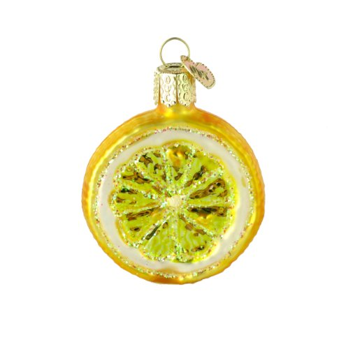 Old World Christmas Lemon Slice Ornament