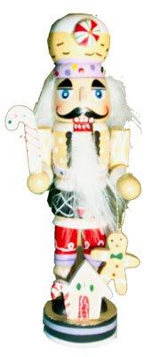 Wooden Gingerbread Man Nutcracker Christmas Ornament