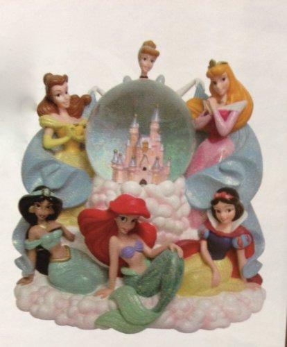 Disney Parks Princess Princesses Musical Snowglobe Snow Globe NEW