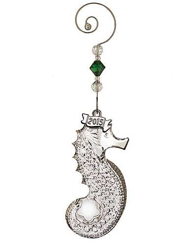 Waterford Annual Seahorse Ornament
