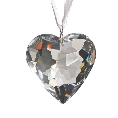 Crystal Heart Ornament By Crystal Florida