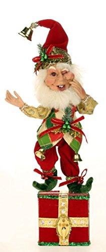 Mark Roberts Elf Stocking Holders 51-42176 Bell Ringer Elf 13 inch