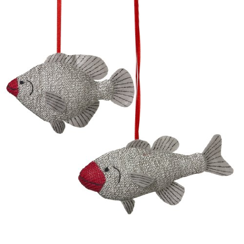 Midwest CBK Sock Fish Christmas Ornament