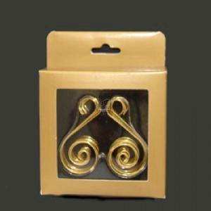 Gold Ornament Hooks Ornament