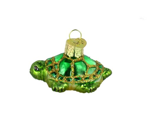 Old World Christmas Small Turtle Ornament
