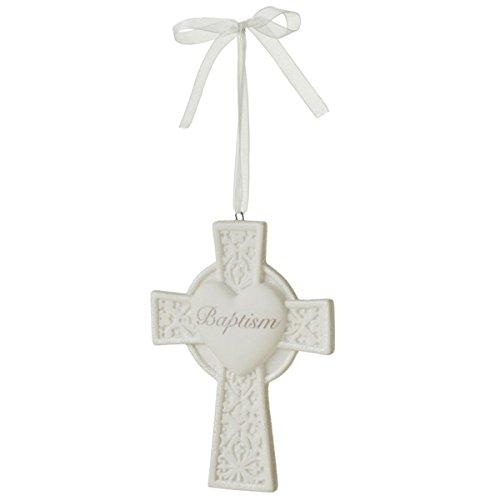 """Baptism"" Cross Christmas Ornament"