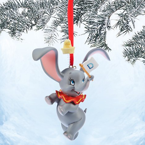 Dumbo Sketchbook Ornament