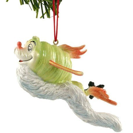 Dr. Seuss from Department 56 Whisker Fish Ornament