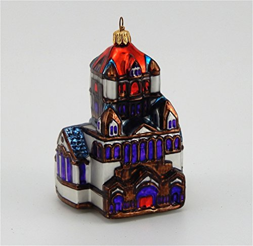 United States Capitol in Winter-Blown Glass Ornament