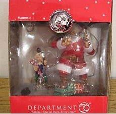 Department 56 Coke Santa & Elf Ornaments