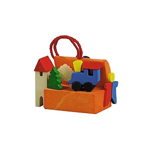 Alexander Taron Graupner Ornament Toy Box 1″H X 1.25″W X .625″D