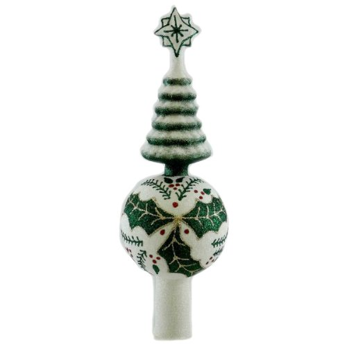 Mattarusky HOLLY AND BERRY TOPPER M87E Finial Christmas New
