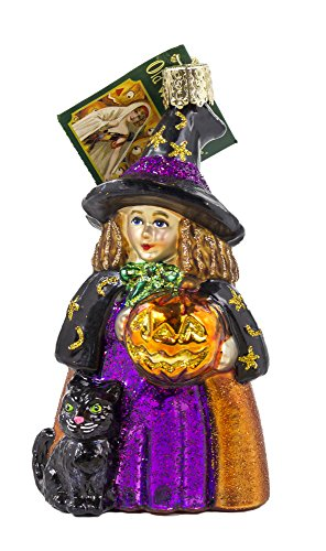 Old World Christmas Cute Witch Ornament