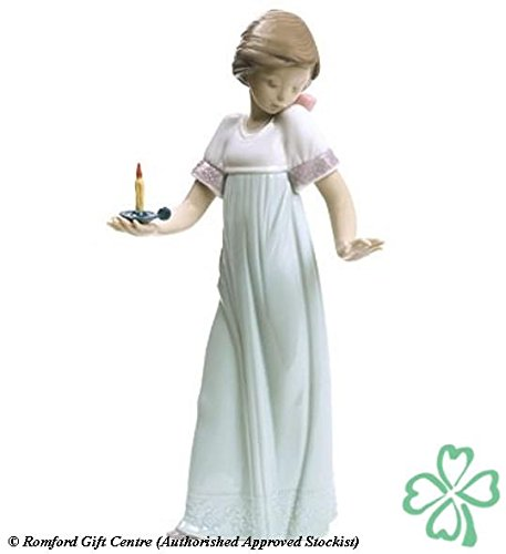 Nao Porcelain by Lladro TO LIGHT THE WAY (SPECIAL EDITION) ( GIRL HOLDING CANDLELIGHT ) 2001703