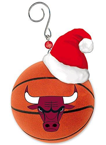 Team Ball Ornament, Chicago Bulls