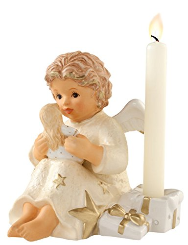 Hummel Angel with Doll Champagne Figurine #828126