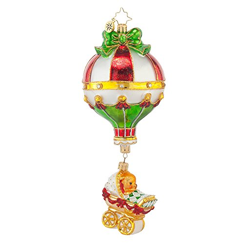 Christopher Radko Lofty Carriage Christmas Ornament