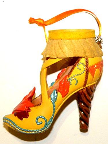 Disney World WDW Park 2015 Runway Pocahontas Shoe Slipper Christmas Ornament