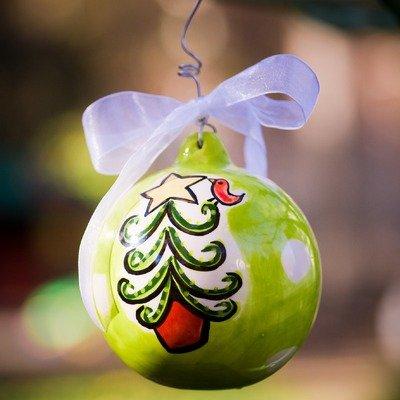 Tree Lime Ball Ornament