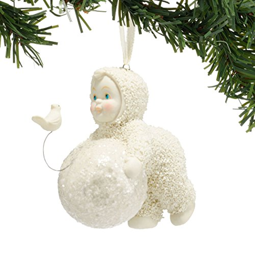 Department 56 Snowbabies 4045824 Lets Build a Snowman Ornament New 2015
