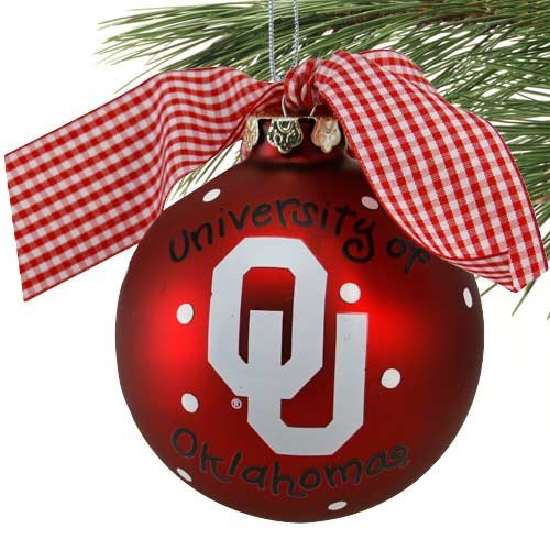 U of Oklahoma Logo Ornament