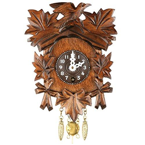 Alexander Taron Home Seasonal Décorative Accessories Engstler Key Wound Clock – Mini Size – 5.5″H x 4.25″W x 2.5″D