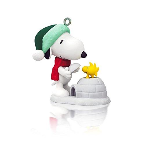 Winter Fun With Snoopy 17th In Series – 2014 Hallmark Keepsake Miniature Ornament