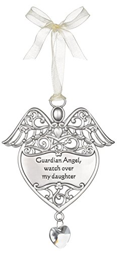 Guardian Angel, Watch Over My Daughter Angel Wings Ornament