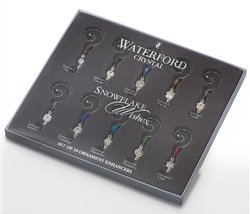 Waterford Snowflake Wishes Ornament Enhancer Set